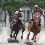 瓜幕競ばん馬競技大会  鹿追町 ライディングパーク 2012.7.22