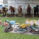 第32回共和かかし祭 輓馬競技大会 2012.8.19