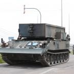 第7施設大隊 92式地雷原処理車